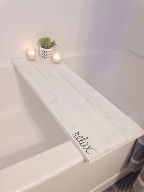 bath tub tray caddy bath tray bath caddy white rustic
