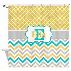 yellow teal chevron quatrefoil personalized shower by With kitchen colors with white cabinets with personalised baby shower stickers