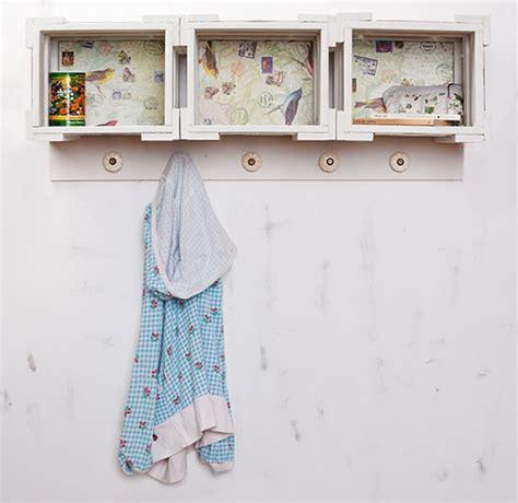 garderobenhaken mit ablage garderobe der mutter einen gru 223 handmade kultur