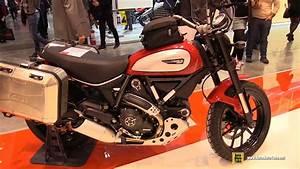 Ducati Scrambler 800 : 2017 ducati scrambler 800 givi accessorized walkaround 2016 eicma milan youtube ~ Medecine-chirurgie-esthetiques.com Avis de Voitures