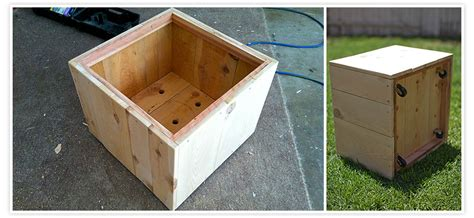 how to make a wooden planter box pdf diy how to build wood planter box building