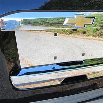 chevrolet suburban chrome tailgate hatch cover