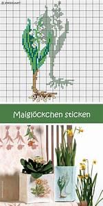Blumen Für Schatten : maigl ckchen mit schatten sticken sticken kreuzstich ~ Lizthompson.info Haus und Dekorationen