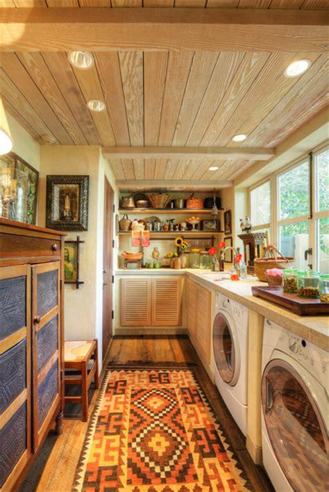 Garden House  Rustic  Laundry Room  Sacramento By