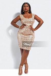 Champagne Sequins Plus size Pinterest Champagne, Sequins and Curvy girl fashion