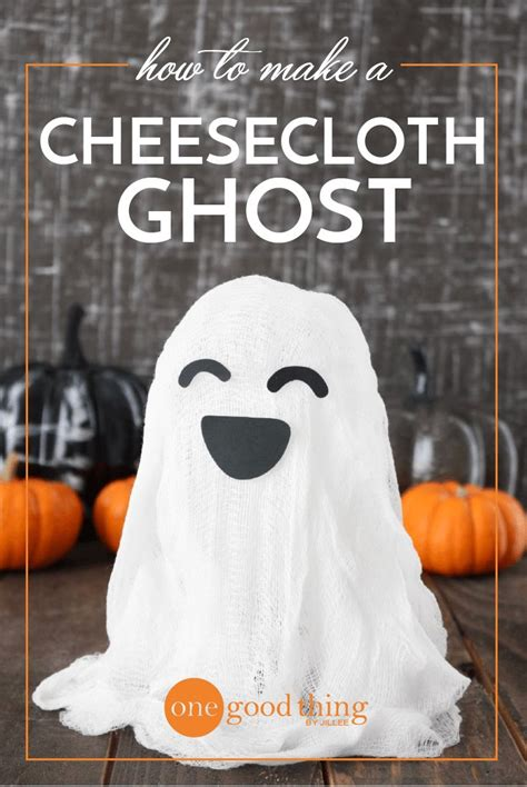 ideas  cheesecloth  pinterest ghost