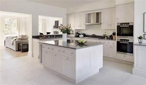Plan De Travail Ilot : cuisine plan de travail en lot de cuisine classique en inox ~ Premium-room.com Idées de Décoration