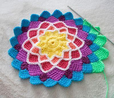 treasures entrelac crochet
