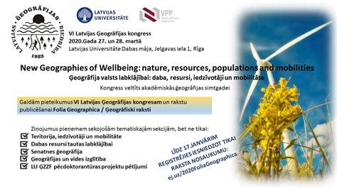 Latvijas Ģeogrāfijas biedrība izsludina pieteikšanos ...