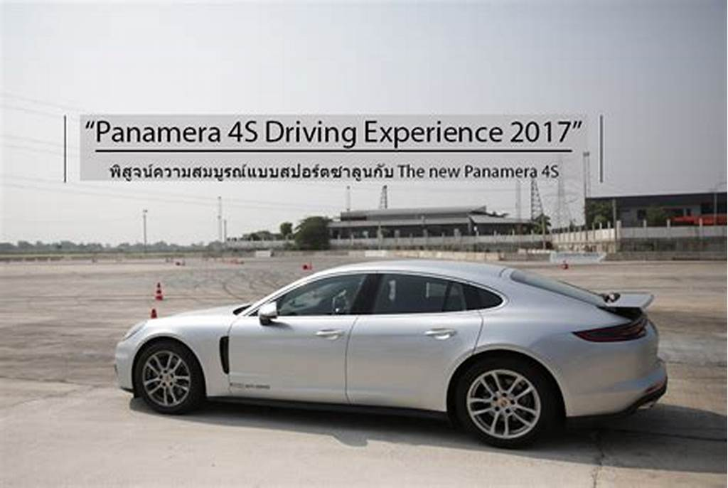 #Panamera #4S #Driving #Experience #2017