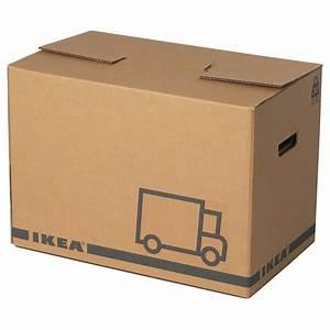 Carton Demenagement Ikea : j ttene packaging box brown 56x33x41 cm ikea ~ Melissatoandfro.com Idées de Décoration