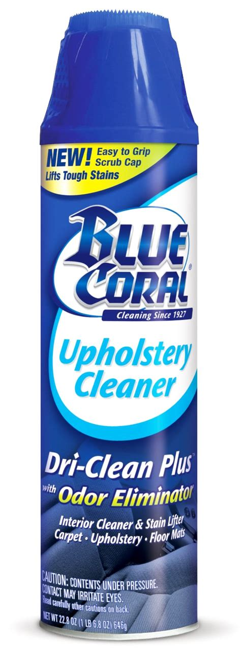 blue coral upholstery cleaner definitive guide to household cleaning products