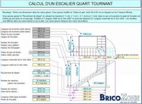 logiciel dessin escalier gratuit calcul ouverture tr 233 mie escalier b 233 ton 1 4 tournant bas