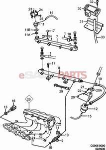 9137803 saab temperature sensor genuine saab parts With saab fuel rail diagram