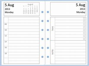 Philofaxy: Diary Inserts for you to download and print for