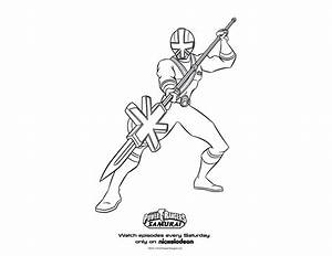 Green Samurai Ranger Coloring Pages | Coloring Expose