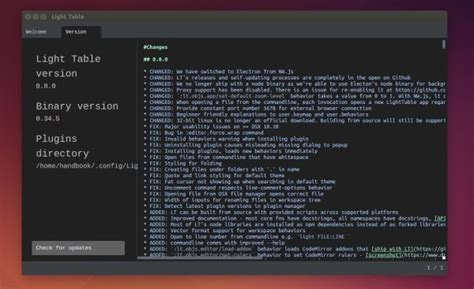 Light Table Ide by How To Install Light Table Ide In Ubuntu 16 04 Via Ppa