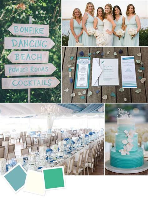 beach wedding color palettes  love