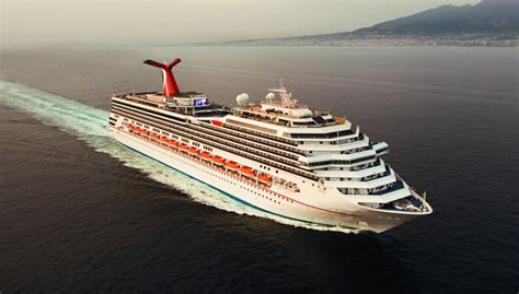 The liberty carnival cruise ship