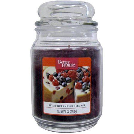 better homes and gardens candles better homes and gardens 18 oz jar candle berry
