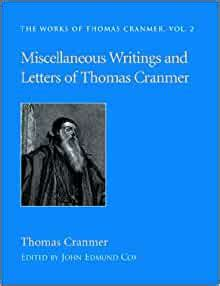 miscellaneous writings  letters  thomas cranmer