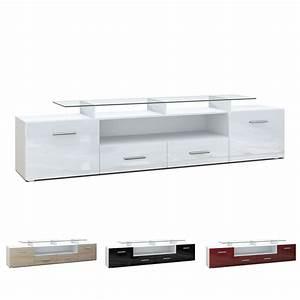 Tv Sideboard Weiß Hochglanz : tv board lowboard sideboard rack m bel almada v2 wei hochglanz naturt ne ebay ~ Whattoseeinmadrid.com Haus und Dekorationen