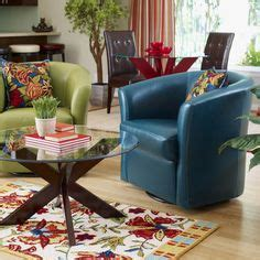 isaac swivel chair avocado pier 1 finds on shag rugs swivel chair and