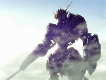 Gundam Orphans Blooded Iron Suit Mobile Background