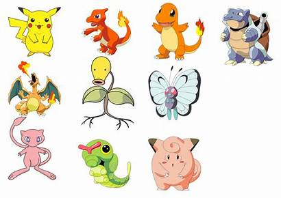 Pokemon Characters Character Clipart Vector Names Transparent