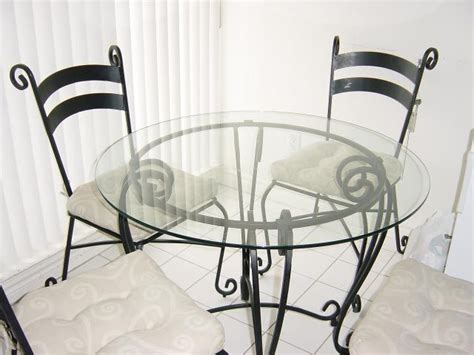 pier 1 kitchen table and chairs glass and wrought iron table and chairs pier 1 dining
