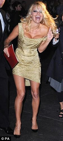 attention seeker pamela anderson turns heads  fashion