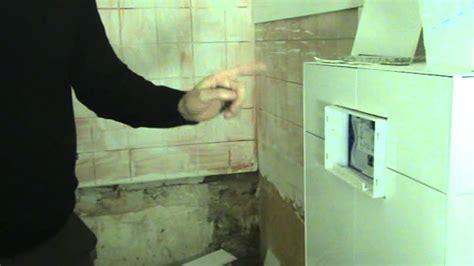 hangend toilet afwerken een inbouw toilet tegelen doe je zo youtube