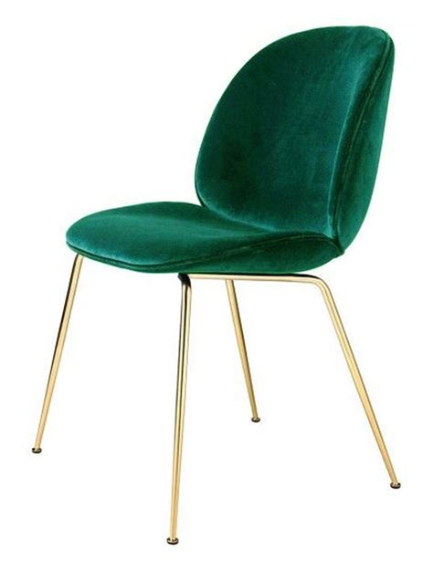 chaise velours gubi beetle chair metal legs fully upholstered shell