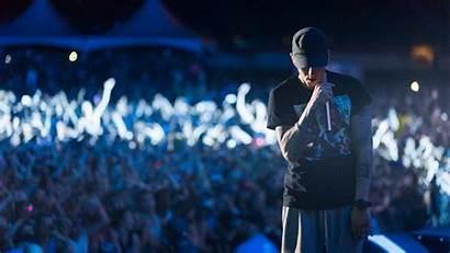 Eminem Wallpapers Concert Rap Rapper Hop Hip