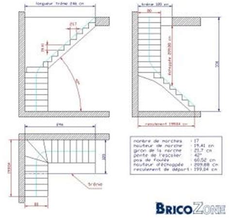 calcul d escalier