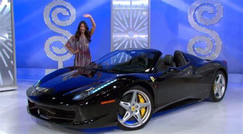 woman loses chance  win ferrari   price