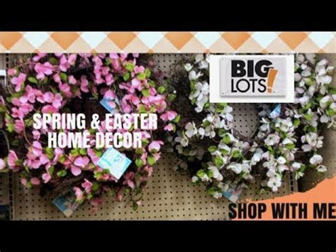 New Spring And Easter Home Decorbig Lots  Youtube