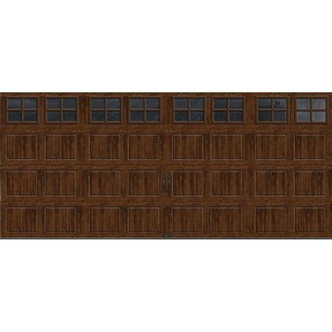 16 Ft Garage Door by Clopay Gallery Collection 16 Ft X 7 Ft 6 5 R Value