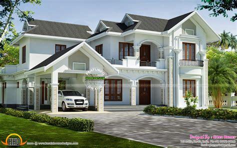 beautiful car porch roof design kerala