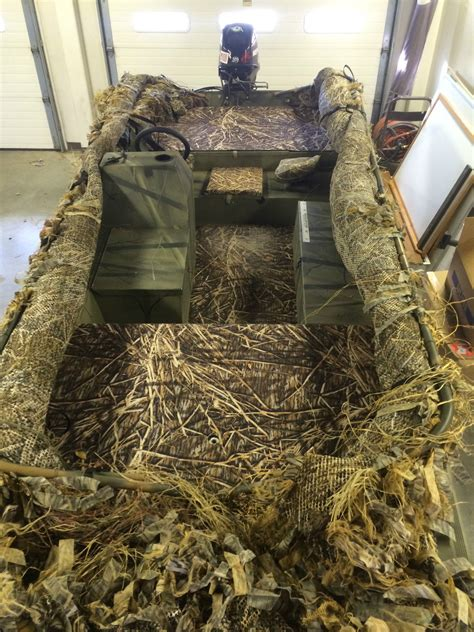 Versatrack Boat Duck Blind by Tracker Grizzly 1754sc Blind Duck 2006 For Sale For 8 000