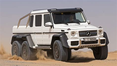 Mercedesbenz G63 Amg 6x6 May Be The Maddest Mercedes Yet
