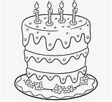 Cake Coloring Birthday Drawing Happy Cakes Pages Printable Chocolate Draw Colour Drawings Getdrawings Designs Popular Ing Az Cherry Getcolorings Colorings sketch template