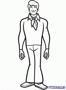 Step 8  Learn To Draw Fred From Scooby Doo