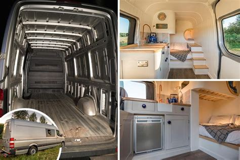 family transforms  van  luxury motor home complete