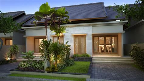 langkah ciptakan fasad rumah tropis minimalis  ideal