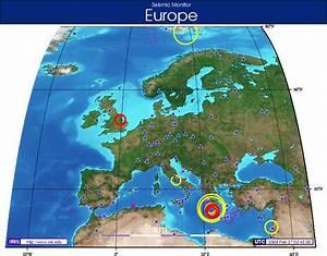 Earthquake Rocks England - Live Data – gCaptain