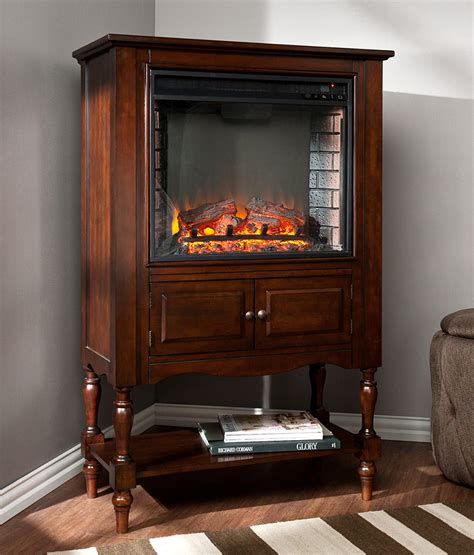 providence wall  corner electric fireplace mantel