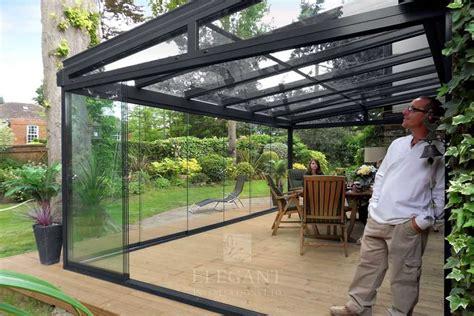 glass room  bedfordshire   glass blind elegant
