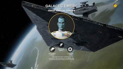 Thrawn Admiral Wars Grand Battlefront Hero Concepts
