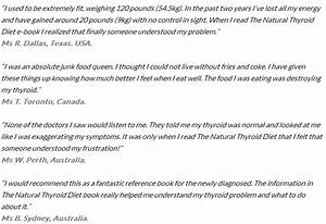 The Natural Thyroid Diet Pdf Review